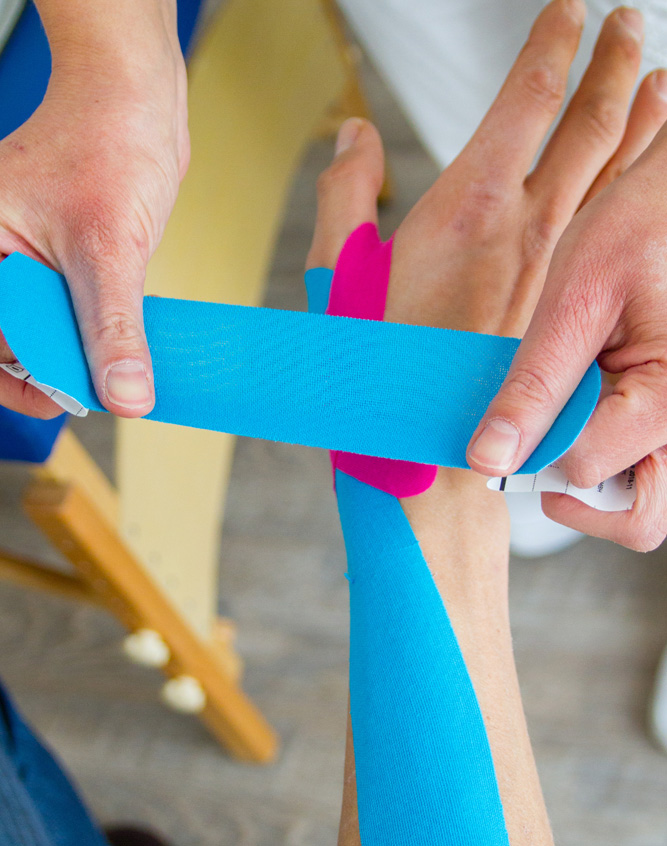 PHYSIO-TAPIN & KINESIOLOGISCHES TAPING